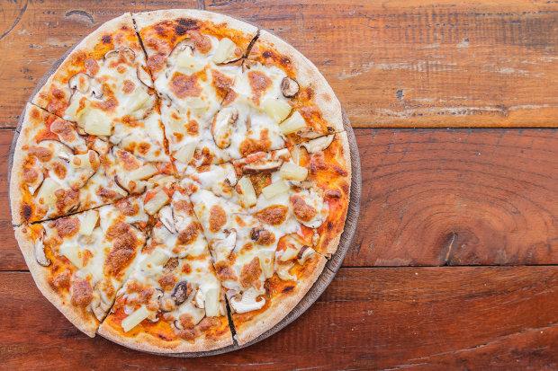 Простой рецепт низкокалорийной пиццы