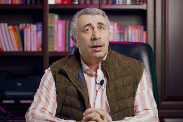 Евгений Комаровский, кадр из видео