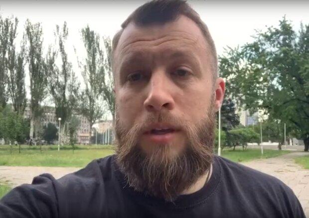 Максим Жорін, скрін з відео