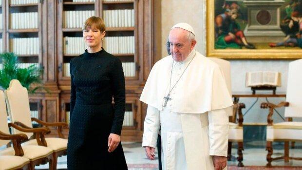 Президентка Естонії у Ватикані