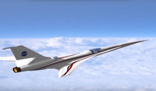 NASA створює беззвучний надзвуковий літак (відео)