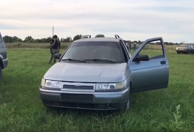 """Залучен Нацгвардію і квадрокоптери: знайшли машину """"полтавського терориста"""", пошуки підозрюваного тривають досі"""