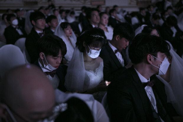 Весілля під час пандемії, фото: gettyimages