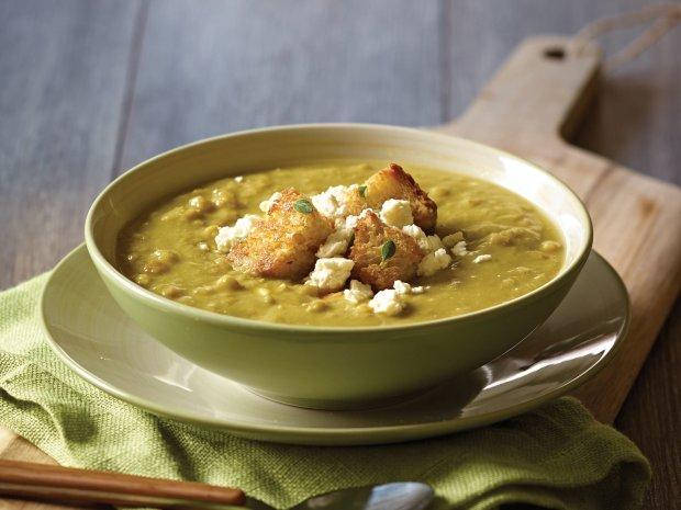 Гороховый суп с панчеттой: вкусный и очень полезный рецепт