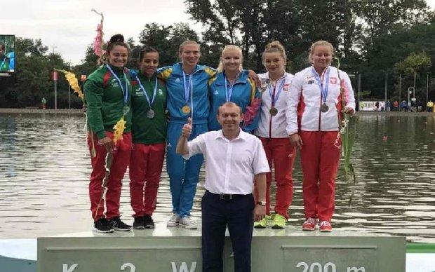 Українські веслувальниці добули історичну перемогу на Чемпіонаті Європи