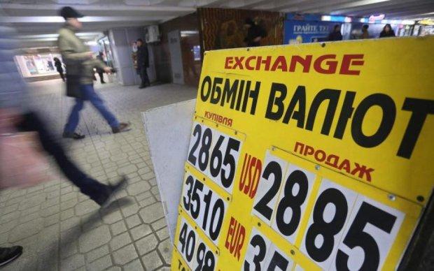 Курс валют на 24 апреля: доллар и евро преклонились перед гривной