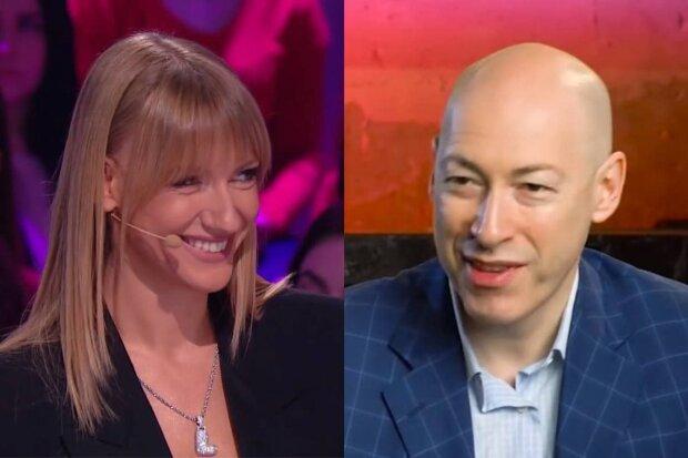 Леся Нікітюк та Дмитро Гордон / скріншот з відео