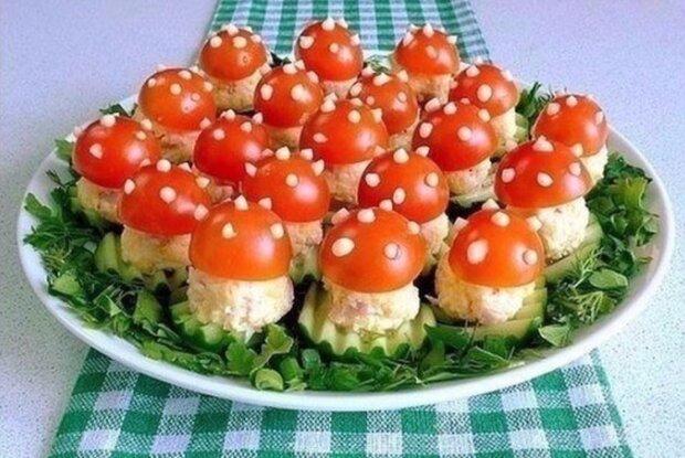 "Закуска ""Мухомор"", фото: instagram.com/cookery_secrets"