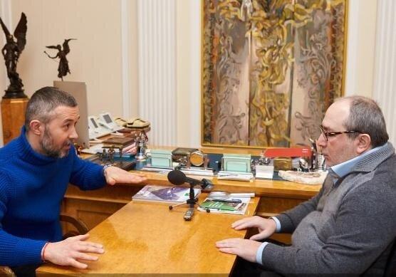 Геннадий Кернес и Сергей Бабкин, фото: пресс-служба Харьковского городского совета