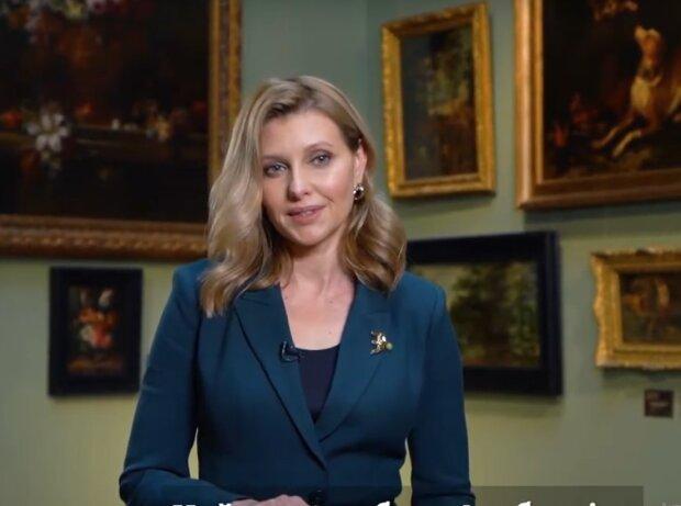 Олена Зеленська змусила всесвітньовідому галерею заговорити українською: ″Нарешті ми зустрілися!″
