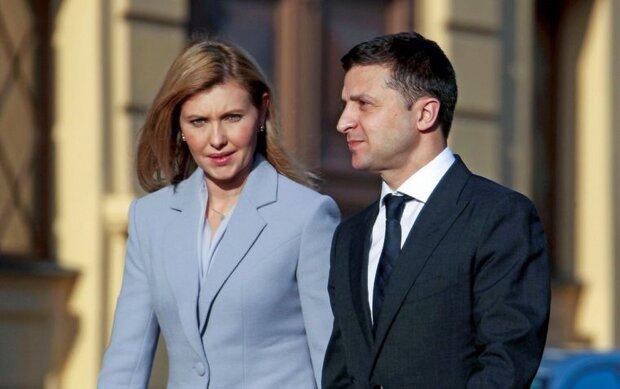 Володимир Зеленський та Олена Зеленська. Фото: Громадське.
