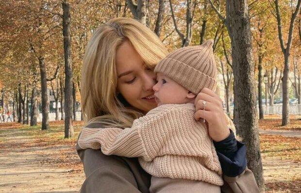 Даша Квіткова з сином, instagram.com/kvittkova