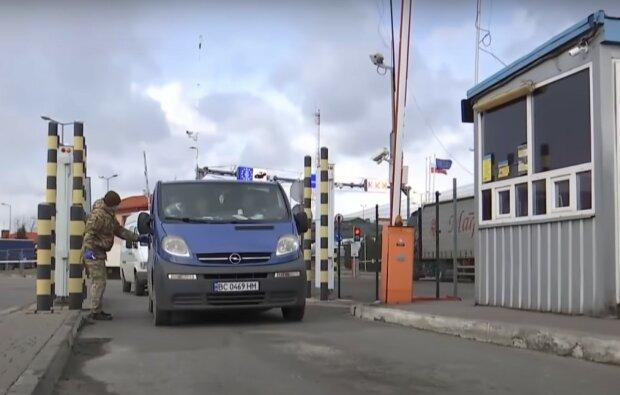 на границе, скриншот из видео