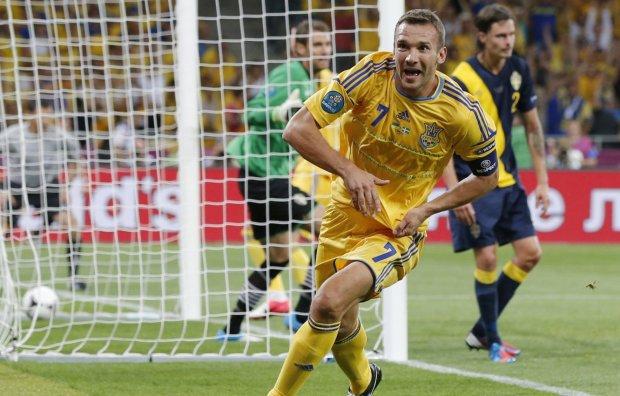 Шевченко потрапив до списку найкращих гравців сучасності