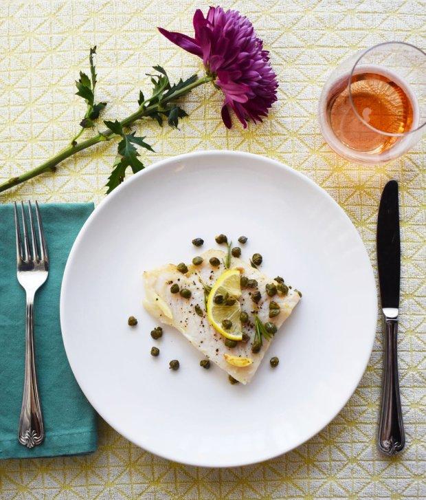 Камбала з маслом з каперсів і лимона: рецепт для справжніх гурманів