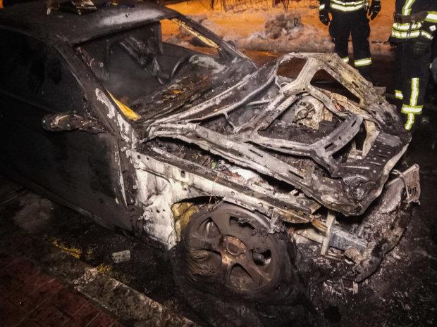 Підпал авто у Києві