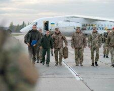 Зеленський з військовими, фото: ОПУ