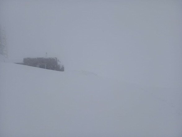 Карпаты замело снегом, фото: Черногорский горный поисково-спасательный пост
