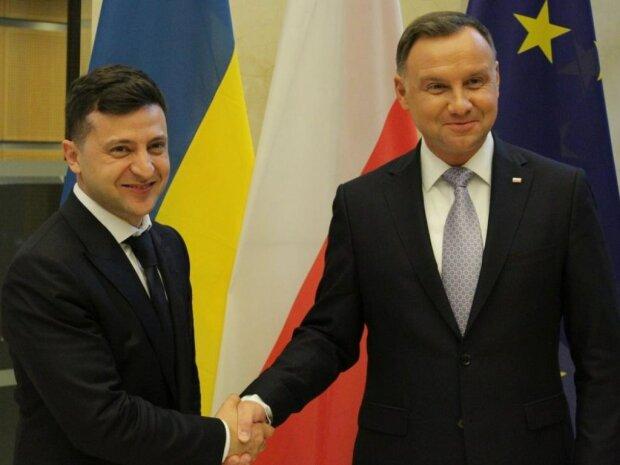 Зеленский встретился с президентом Польши Дудой: онлайн-трансляция исторического события
