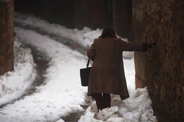 Снег на улице, фото: РБК