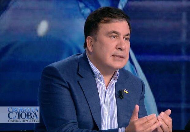 Міхеіл Саакашвілі, скрін з відео