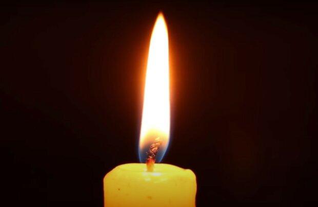 свічка, скріншот з відео