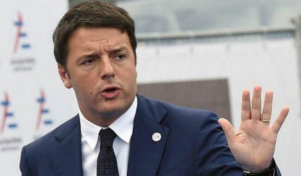 Італійського прем'єра підозрюють у розтраті €600 тисяч
