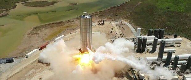Зліт ракети SpaceX