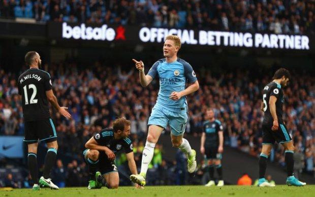 Манчестер Сіті - Вест Бромвіч 3:1 Відео голів та огляд матчу чемпіонату Англії
