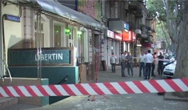 В центрі Одеси підірвали бар (фото, відео)