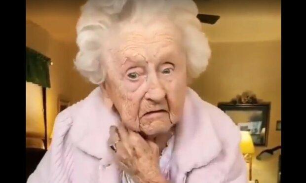 """104-річна бабуся повторила популярний тренд і стала зіркою мережі: """"Нам би в 70 такими бути"""""""