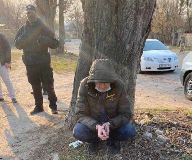 затримання злочинців, фото: Антон Геращенко