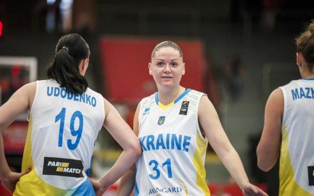 Українські баскетболістки виграли перший матч Євробаскету