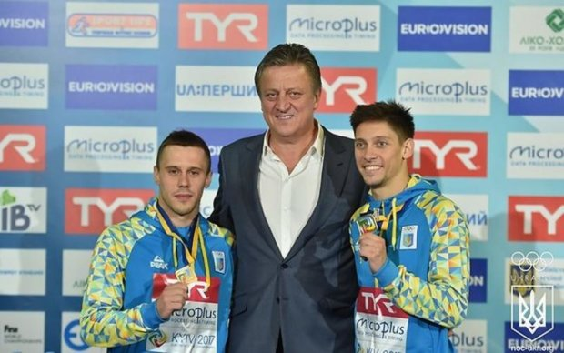 Українці виграли срібло на чемпіонаті Європи зі стрибків у воду