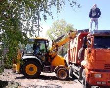 вывоз мусора в Киеве