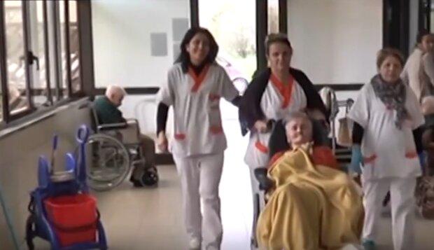 104-літня Ада Зануссо, скріншот з відео
