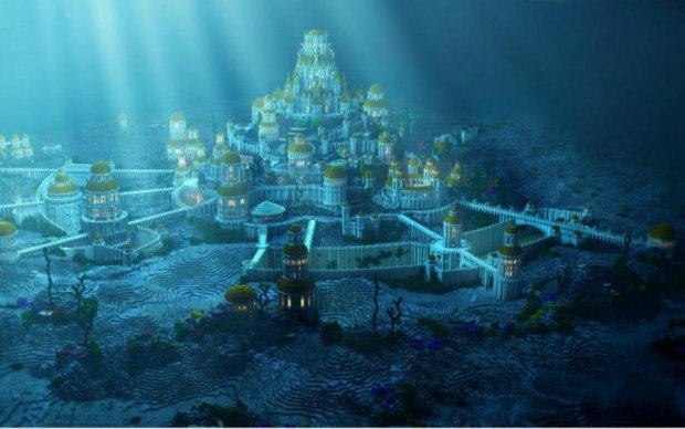 Дайверы обнаружили под водой загадочную Атлантиду