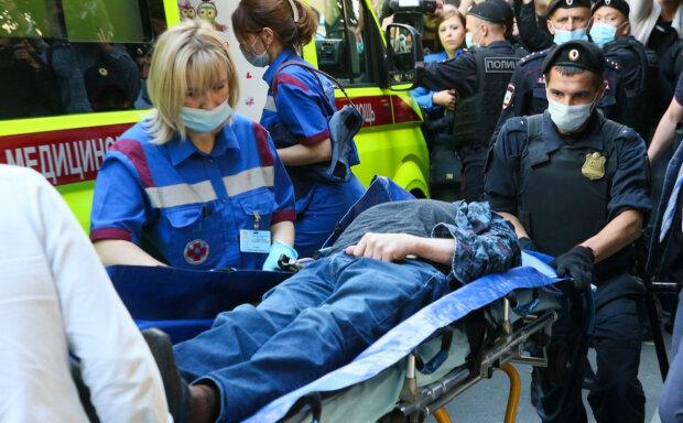 Єфремов потрапив в лікарню, фото з російських ЗМІ
