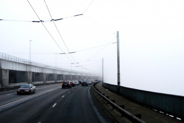 Біда, а не погода: Запоріжжя потоне в густому тумані 11 грудня