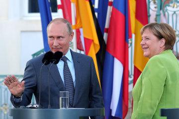 Ангела Меркель і Путін