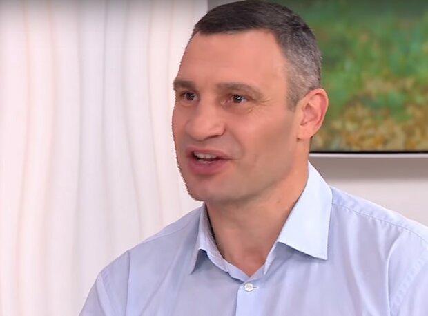 Виталий Кличко, скриншот из видео