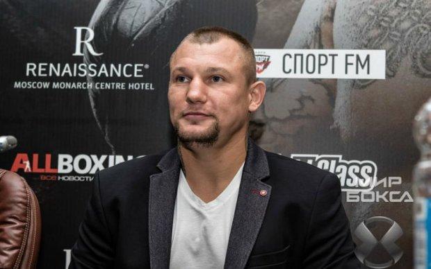 Український боксер в Москві показав, чий Крим