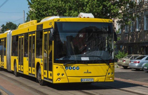 """Автобус """"Київпастранс"""", фото: Telegram"""