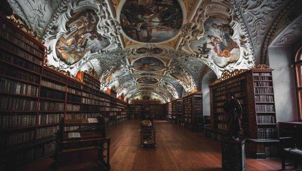 Бібліотеку відвідала дивна надприродна істота: чудовисько з численними щупальцями