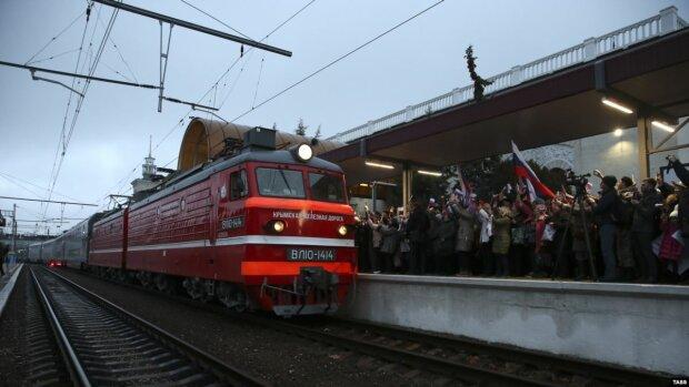 """Поезд """"Симферополь - Москва"""", фото Крым.Реалии"""