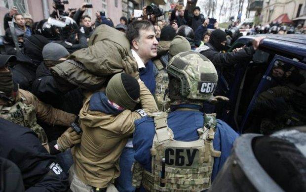 Саакашвілі схопили в Києві: відео