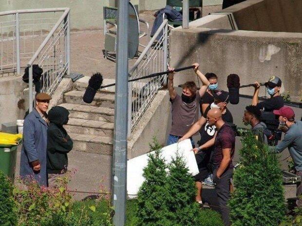 Ван Дамм устроил драку в Киеве посреди улицы