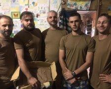 Андрій (другий праворуч), Facebook Олександра Ярового