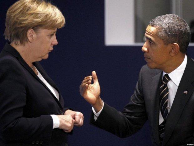 Меркель вмовила Обаму не давати Україні зброю