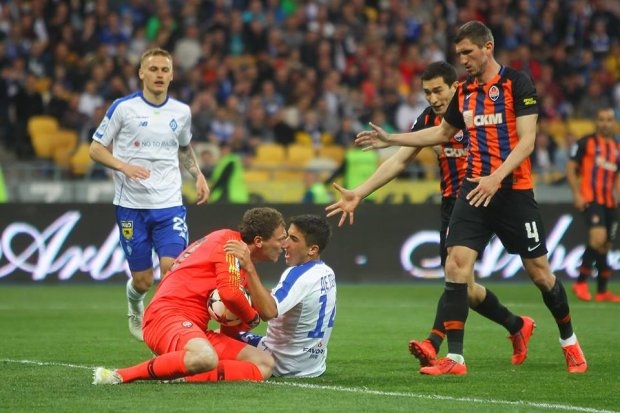У матчі Динамо - Шахтар травмувалися ключові гравці обох команд